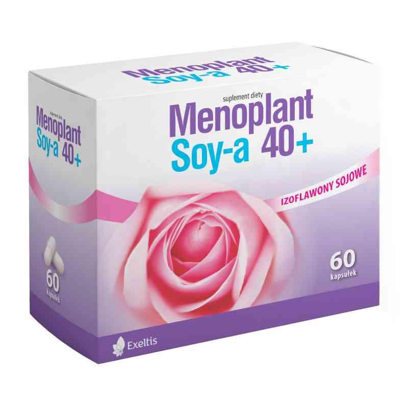 Menoplant Soy-a 40+ kapsułki  zamów na apo-discounter.pl