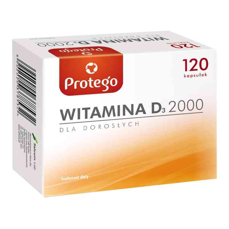 Protego Witamina D 2000 kapsułki  zamów na apo-discounter.pl