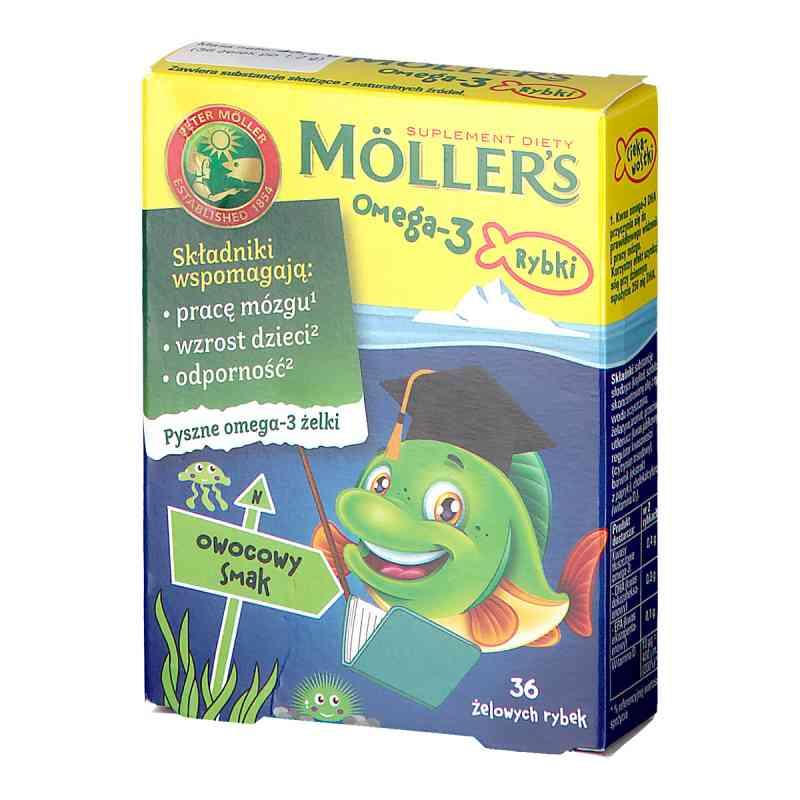 Mollers Omega-3 Rybki Owocowe żelki  zamów na apo-discounter.pl