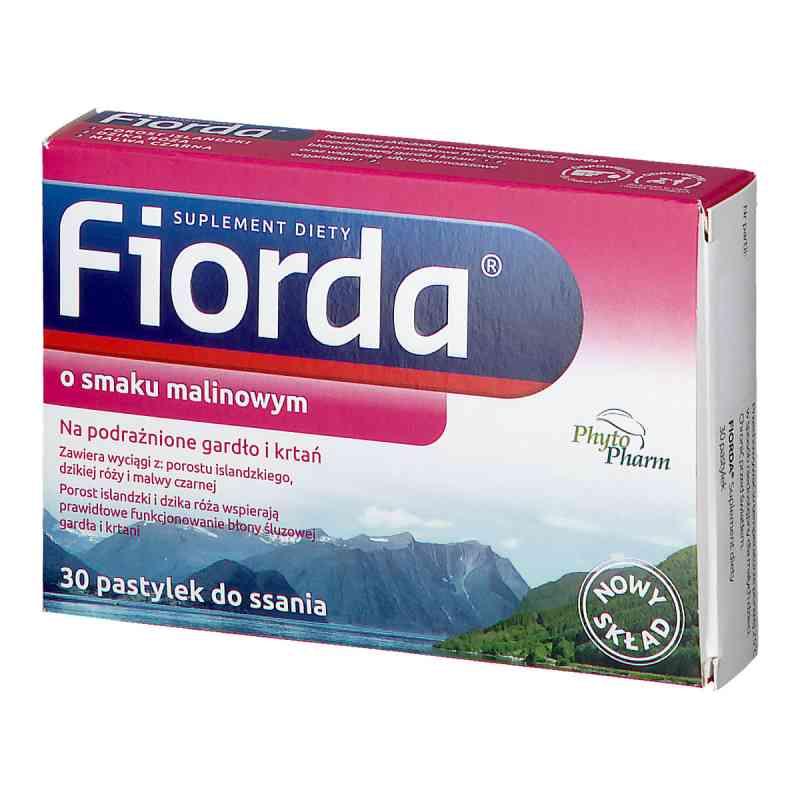 Fiorda o smaku malinowym, tabletki do ssania  zamów na apo-discounter.pl