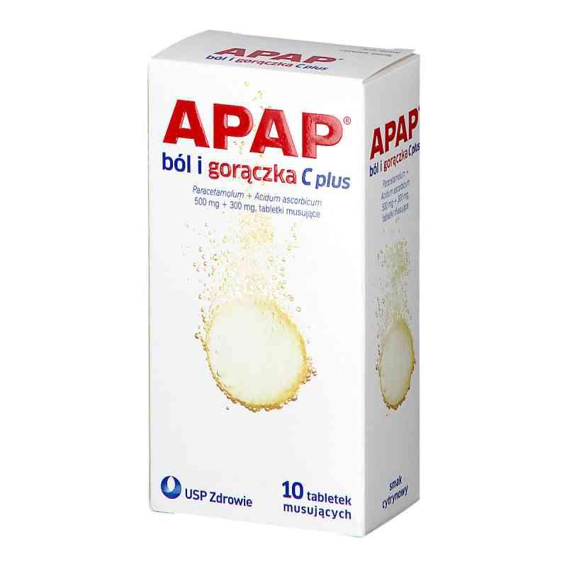 Apap C Plus ból i gorączka tabletki musujące  zamów na apo-discounter.pl