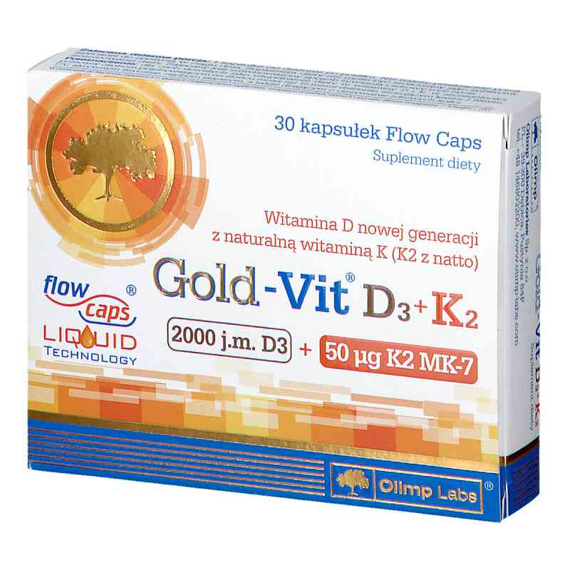 Olimp Gold-Vit D3 2000 j.m.+K2 kapsułki  zamów na apo-discounter.pl