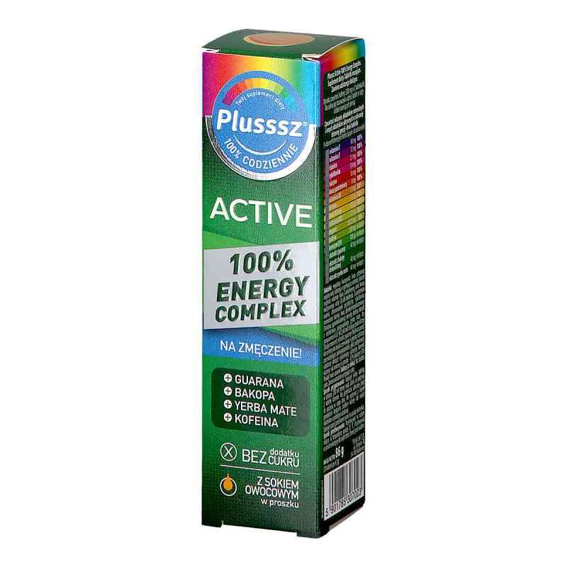 Plusssz Active 100% Energy Complex tabletki musujące  zamów na apo-discounter.pl