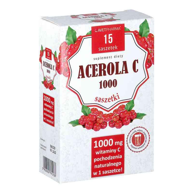 Acerola C 1000 saszetki  zamów na apo-discounter.pl
