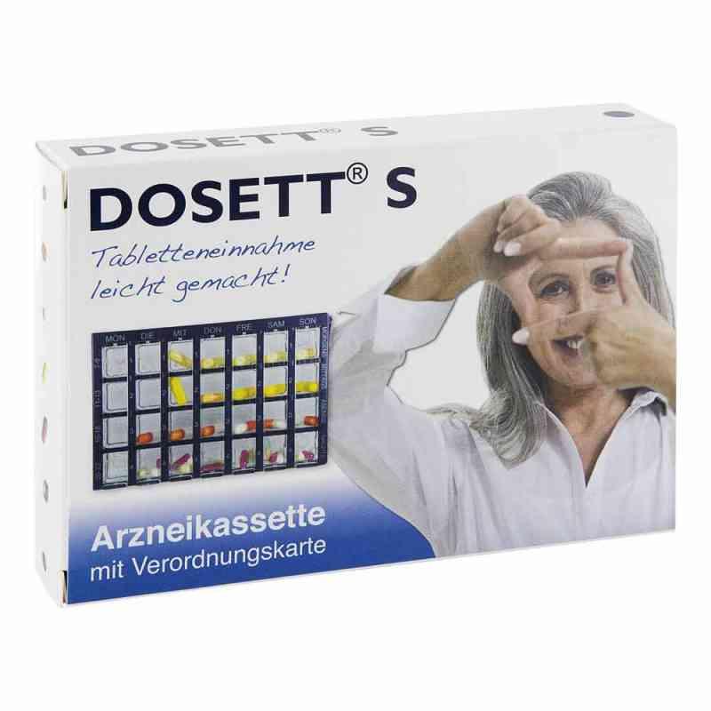 Dosett S Arzneikassette blau 11782 kaseta na lekarstwa niebieska zamów na apo-discounter.pl