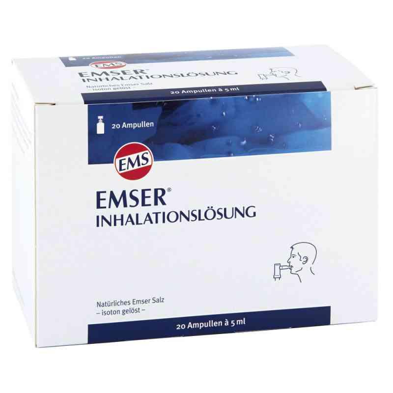 Emser sól emska roztwór do inhalacji - ampułki  zamów na apo-discounter.pl