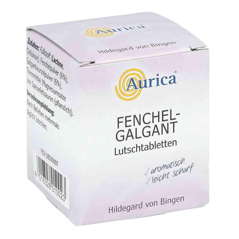 Fenchel Galgant Lutschtabl. Aurica tabletki do ssania z koprem w  zamów na apo-discounter.pl