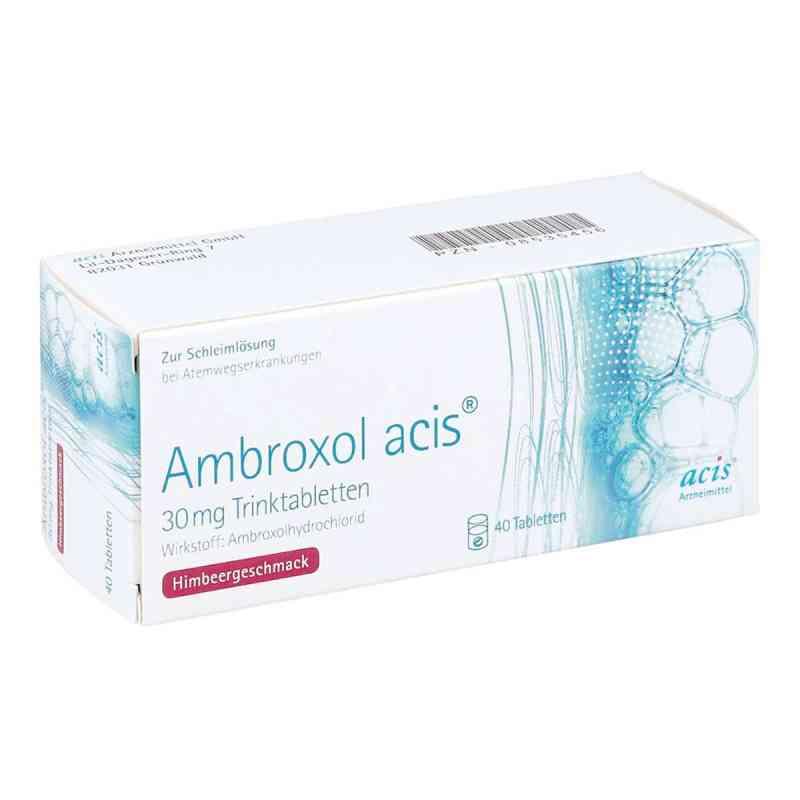 Ambroxol acis 30 mg Trinktabletten zamów na apo-discounter.pl