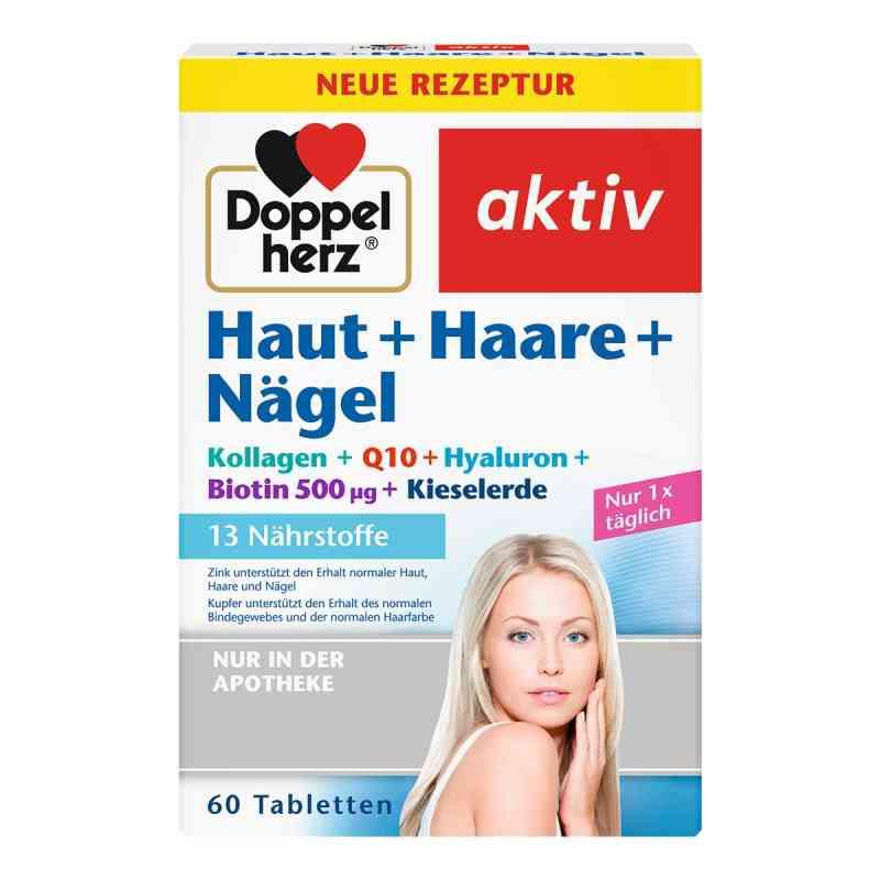 Doppelherz Skóra+ Włosy+Paznokcie tabletki 60 szt. od Queisser Pharma GmbH & Co. KG PZN 08588369