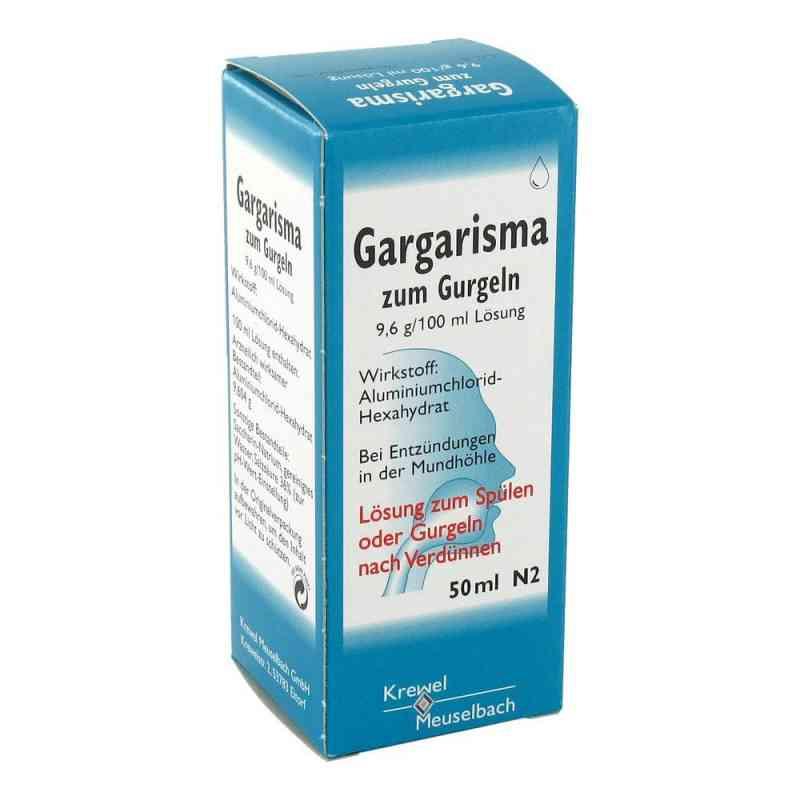 Gargarisma zum Gurgeln Liquidum  zamów na apo-discounter.pl