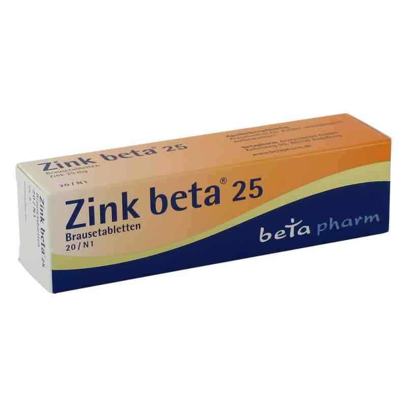 Zink Beta 25 Brausetabl.  zamów na apo-discounter.pl