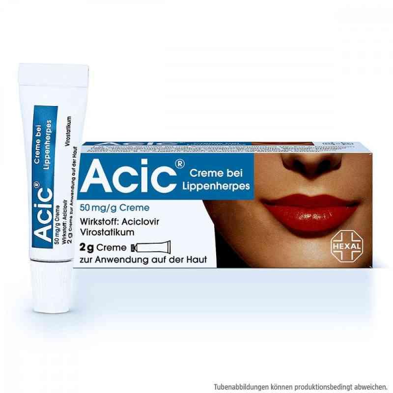 Acic Creme bei Lippenherpes  zamów na apo-discounter.pl