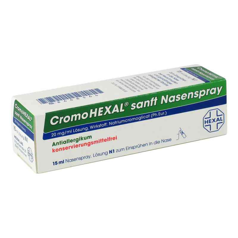 Cromohexal sanft Nasenspray  zamów na apo-discounter.pl