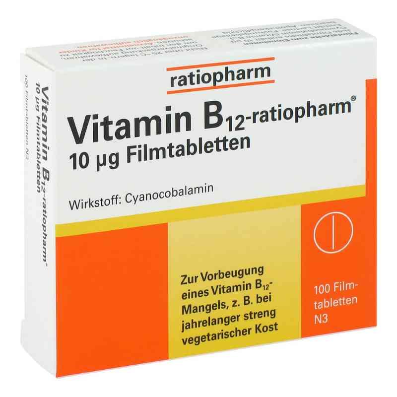Vitamin B 12 ratiopharm 10 [my]g Filmtabl.  zamów na apo-discounter.pl