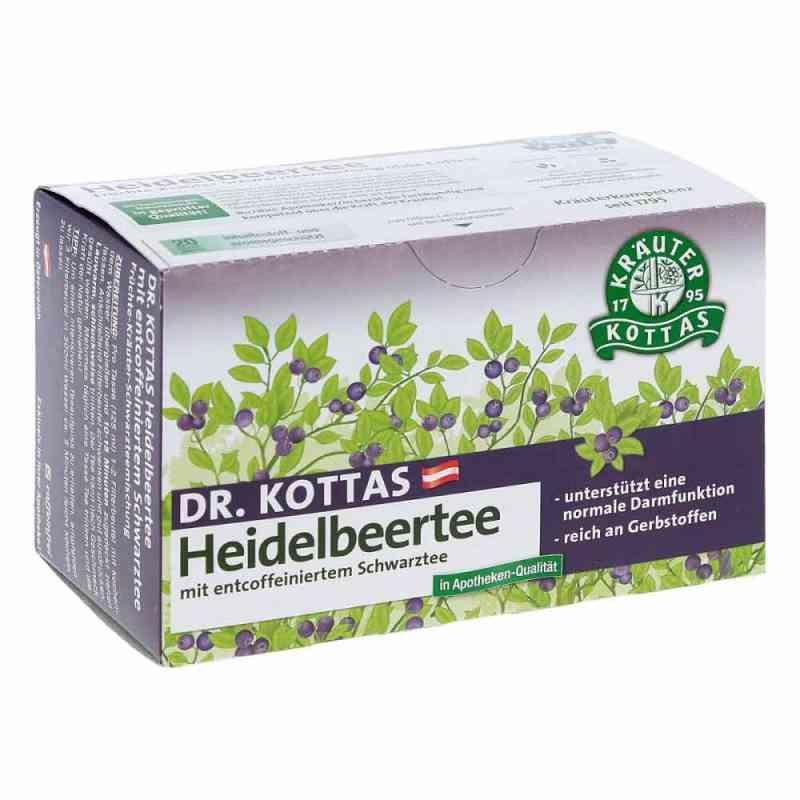 Dr.Kottas herbata z borówką amerykańską, torebki  20 szt. od Hecht Pharma GmbH GB - Handelswa PZN 08791722