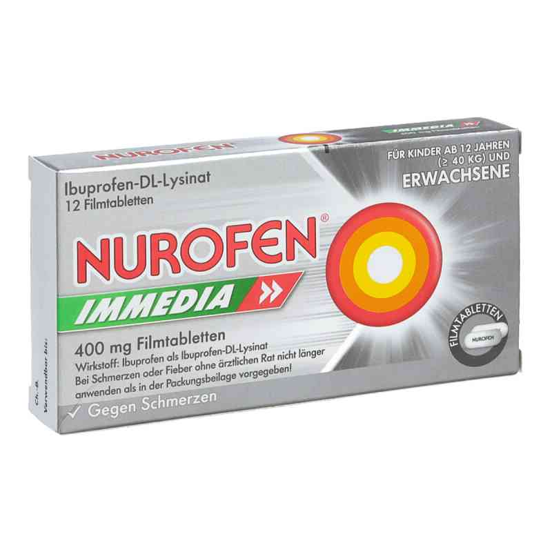 Nurofen Immedia 400 mg Filmtabl.  zamów na apo-discounter.pl