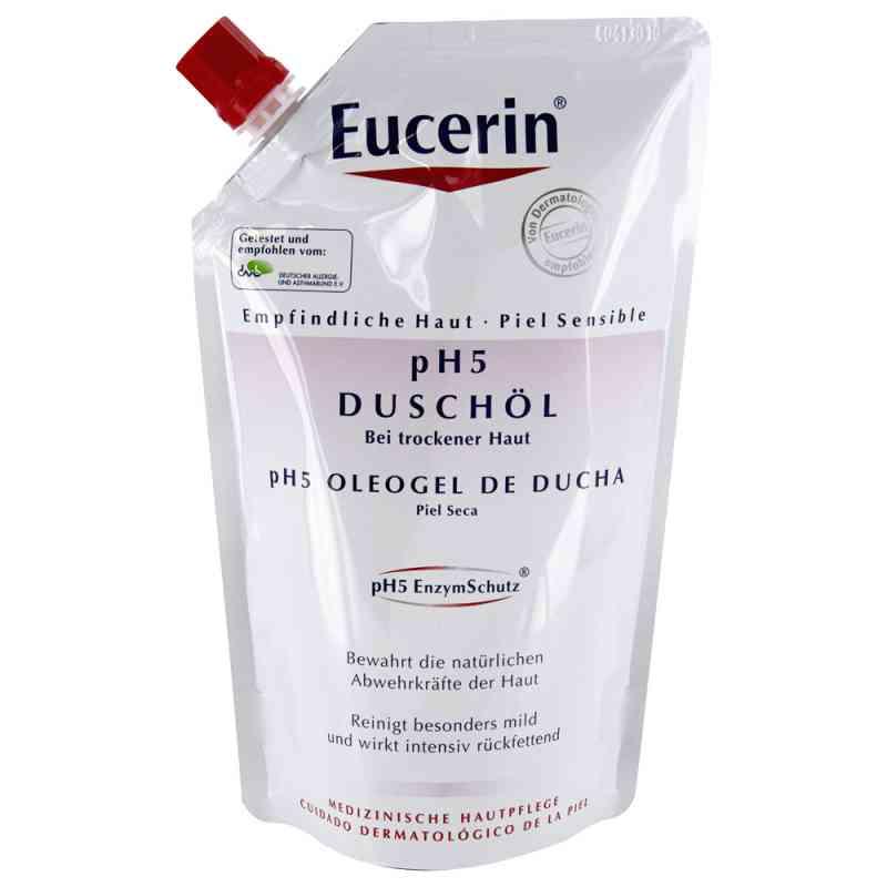 Eucerin pH5 Olejek pod prysznic opakowanie uzupełniające  zamów na apo-discounter.pl