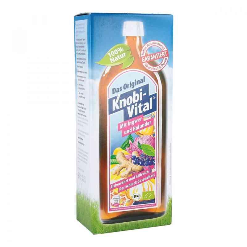 Knobivital m.Ingwer und Holunder Bio Flasche zamów na apo-discounter.pl