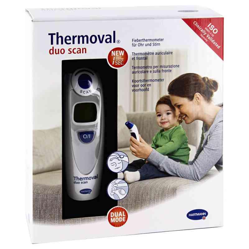 Thermoval duo scan termometr elektroniczny do ucha i czoła zamów na apo-discounter.pl