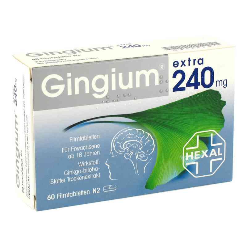Gingium extra 240 mg Filmtabl. zamów na apo-discounter.pl