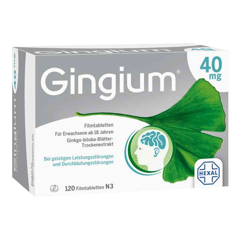 Gingium 40 mg Filmtabl. zamów na apo-discounter.pl