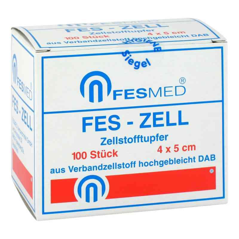 Zellstofftupfer Fes Zell 4x5 cm hochgebleicht zamów na apo-discounter.pl