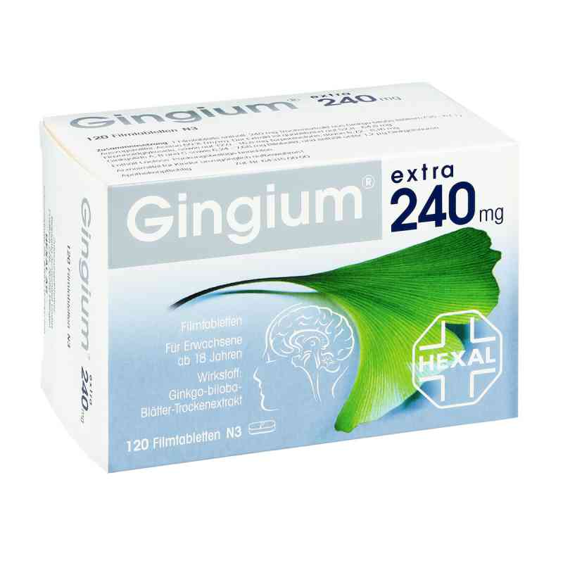 Gingium extra 240 mg tabletki zamów na apo-discounter.pl