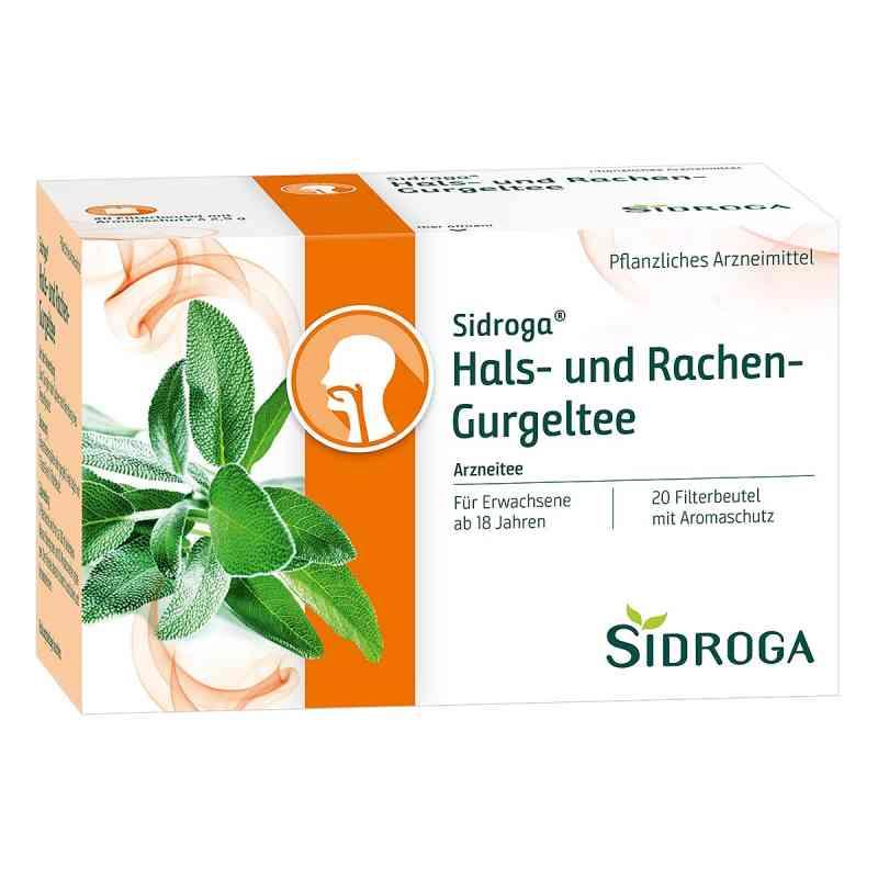 Sidroga Hals- und Rachen-gurgeltee Filterbeutel  zamów na apo-discounter.pl