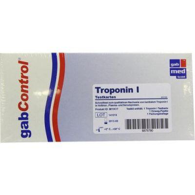Troponin Schnelltestkarte Vollblut Serum Plasma  zamów na apo-discounter.pl