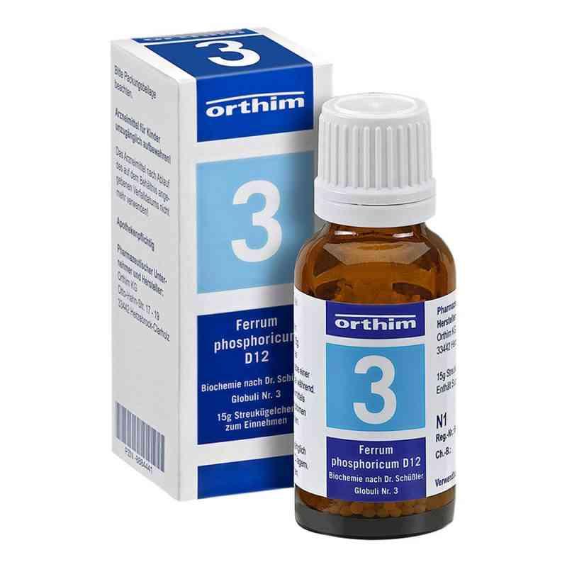 Biochemie Globuli 3 Ferrum phosphoricum D 12 zamów na apo-discounter.pl