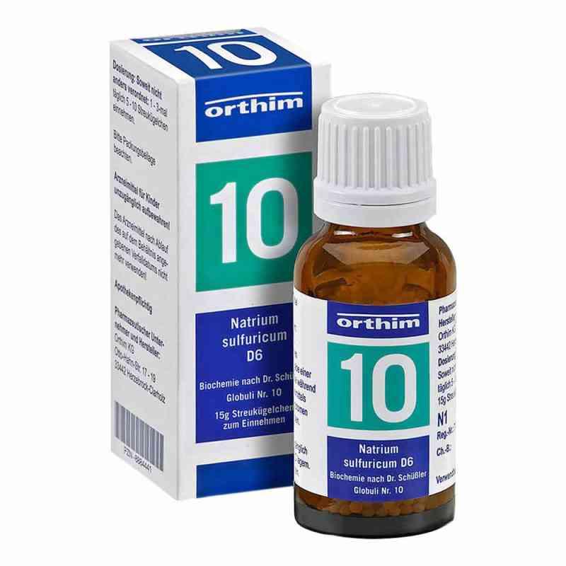 Biochemie Globuli 10 Natrium sulfuricum D 6 zamów na apo-discounter.pl