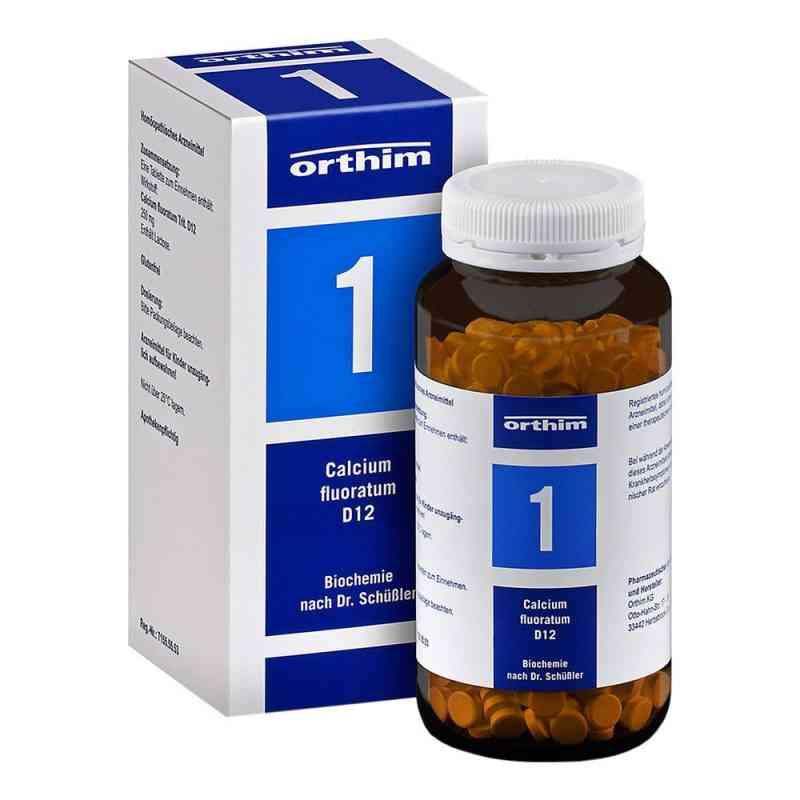 Biochemie 1 Calcium fluoratum D 12 Tabl.  zamów na apo-discounter.pl