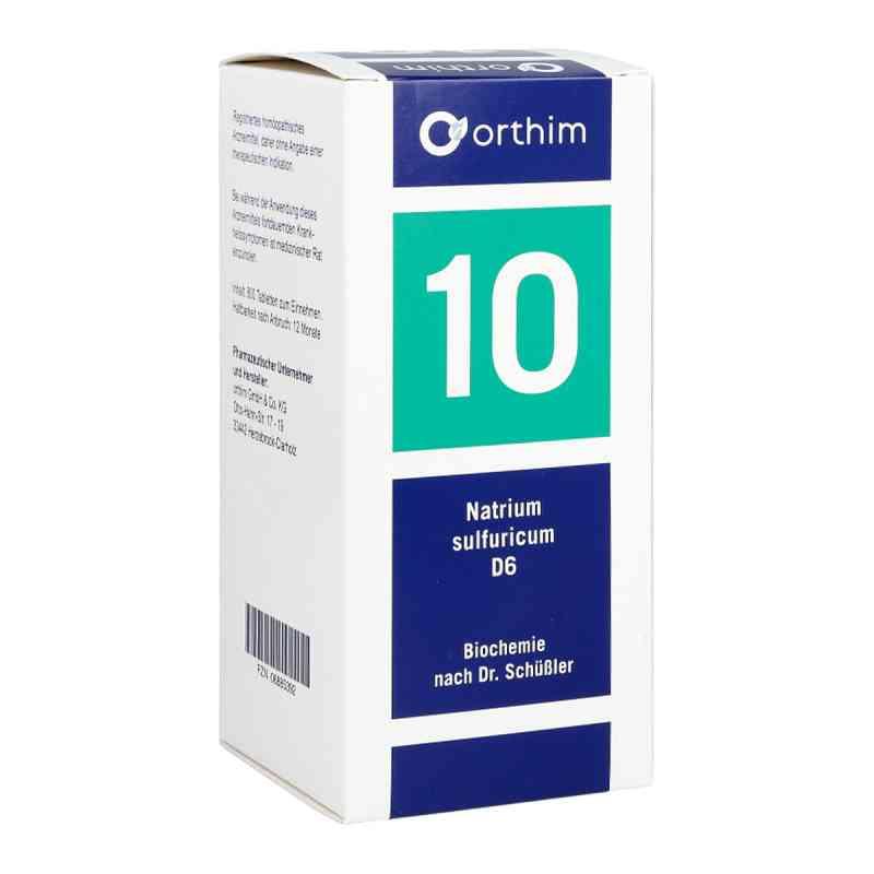 Biochemie 10 Natrium sulfuricum D 6 Tabl.  zamów na apo-discounter.pl
