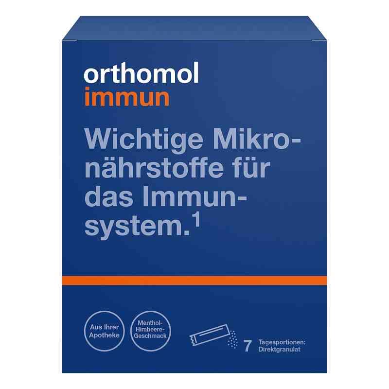 Orthomol Immun granulki na język, smak malina/mentol  zamów na apo-discounter.pl