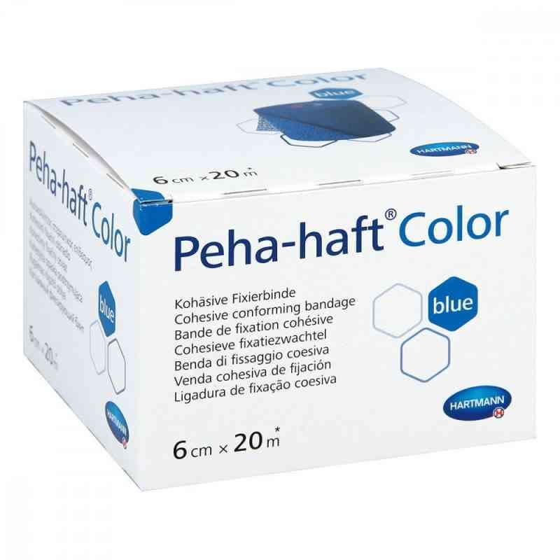 Peha Haft Color bandaż mocujący niebieski  zamów na apo-discounter.pl