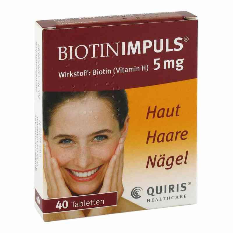 Biotin Impuls 5 mg Tabl. zamów na apo-discounter.pl