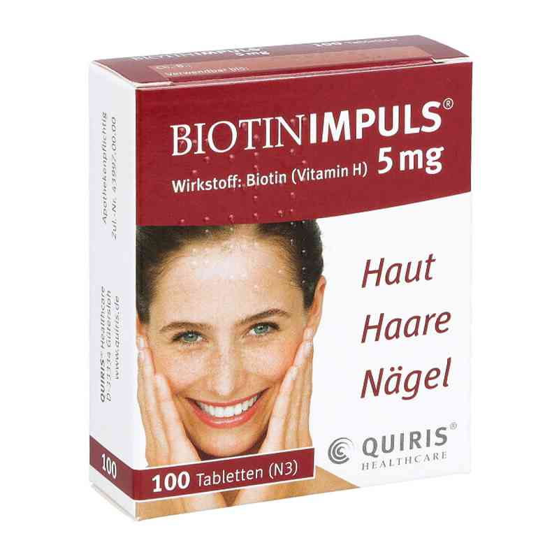 Biotin Impuls 5 mg tabletki  zamów na apo-discounter.pl