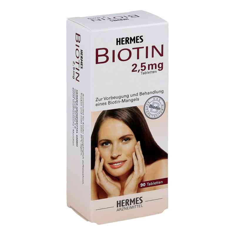 Biotin Hermes 2,5 mg Tabl.  zamów na apo-discounter.pl