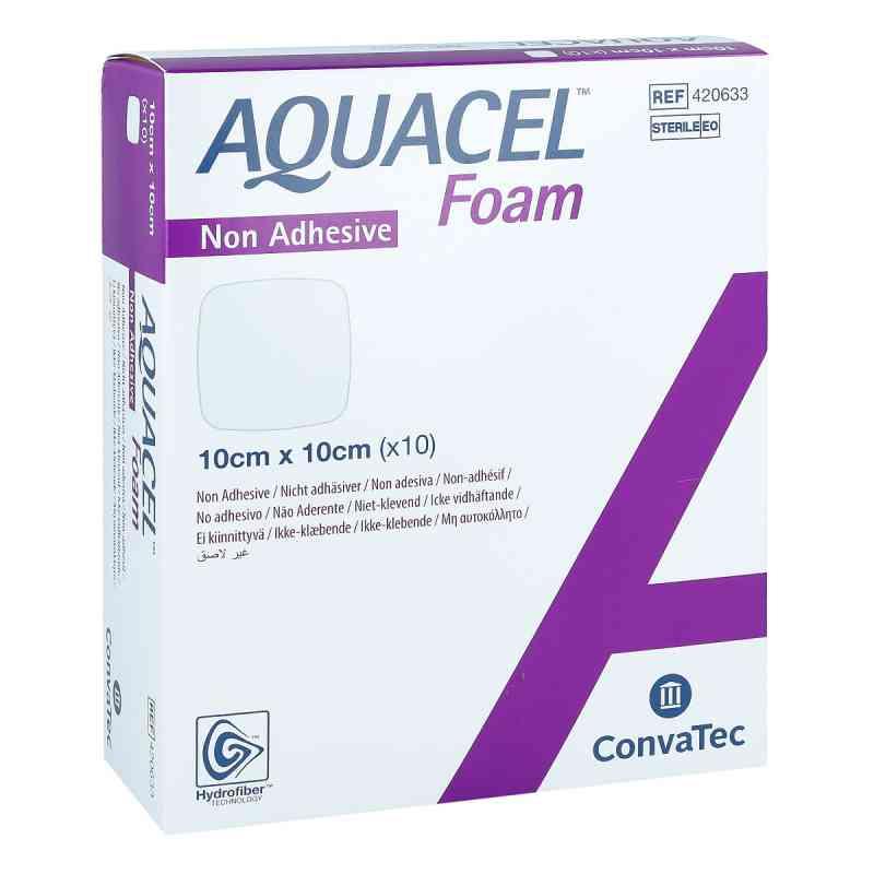 Aquacel Foam nicht-adhäsiv 10x10 cm Verband  zamów na apo-discounter.pl
