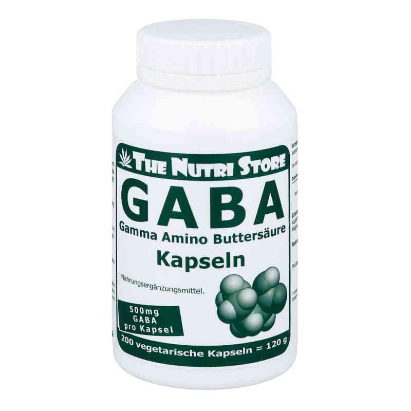 Gaba 500 mg vegetarische kapsułki 200 szt. od Hirundo Products PZN 09002851