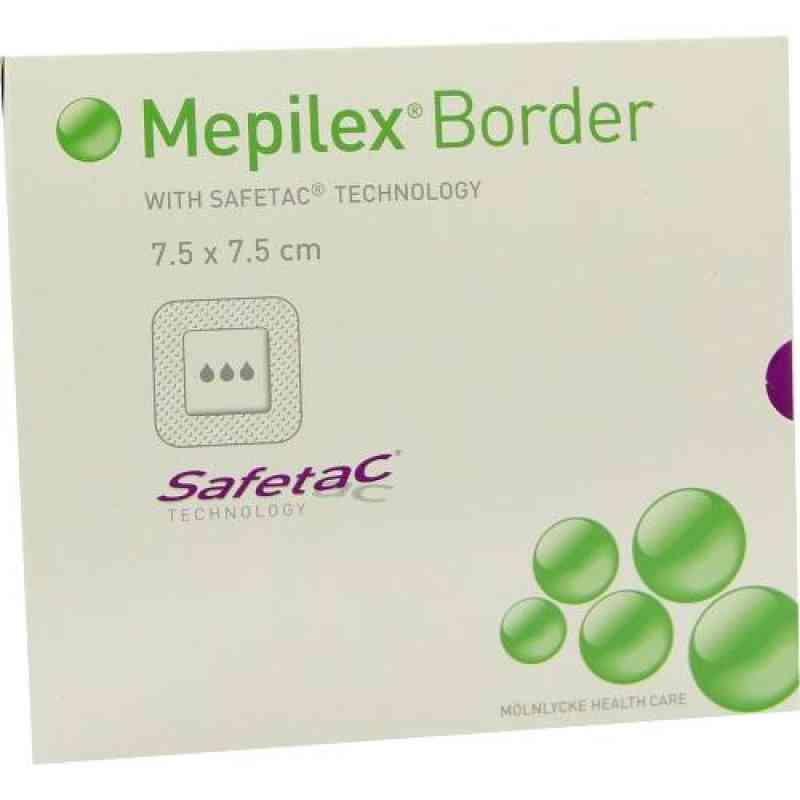 Mepilex Border Schaumverband 7,5x7,5cm  zamów na apo-discounter.pl