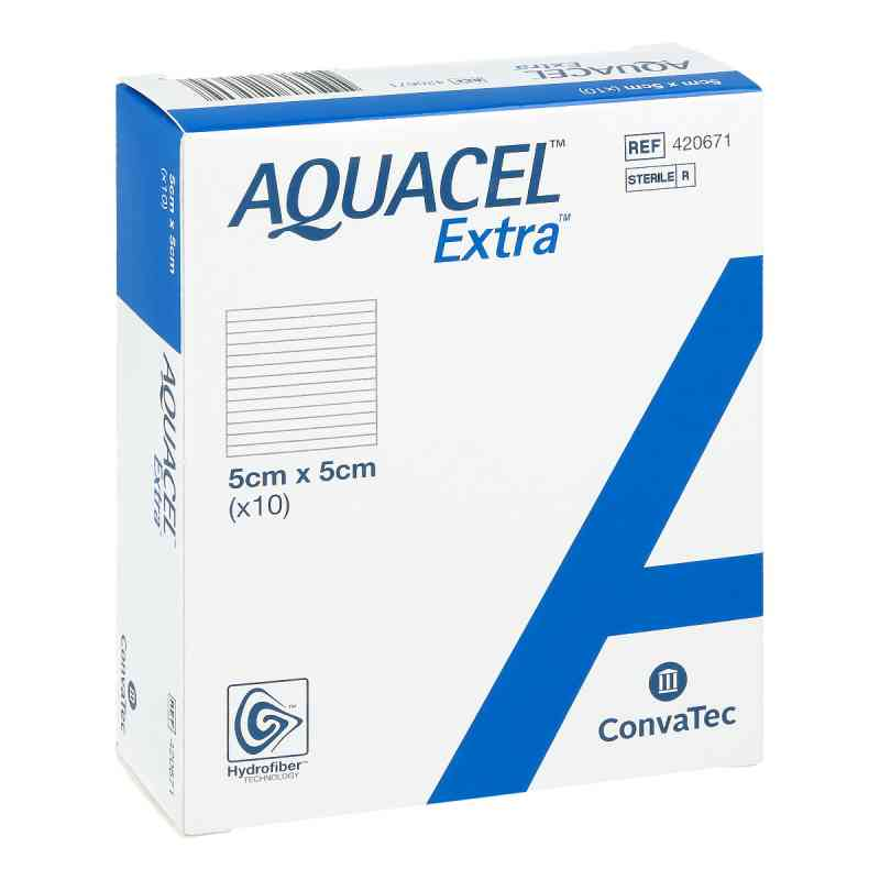 Aquacel Extra 5x5cm Kompressen  zamów na apo-discounter.pl