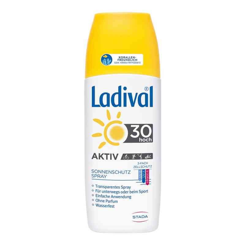 Ladival spray ochronny na słońce SPF30 zamów na apo-discounter.pl