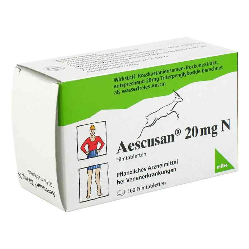 Aescusan 20 mg N Filmtabl. zamów na apo-discounter.pl