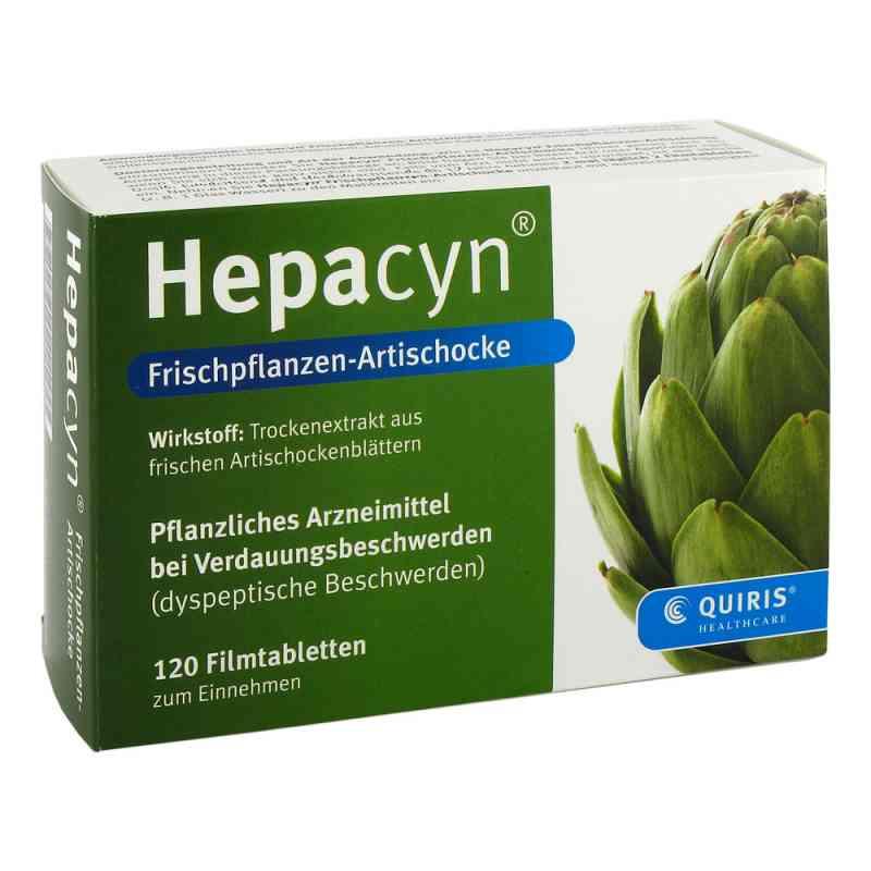 Hepacyn Frischpflanzen Artischocke Filmtabl. zamów na apo-discounter.pl