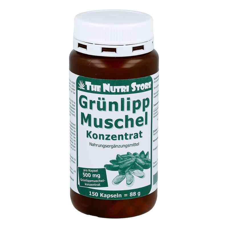 Gruenlipp Muschel 500 mg kapsułki  zamów na apo-discounter.pl