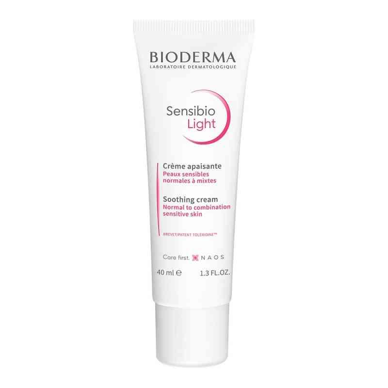 Bioderma Sensibio Light krem łagodzący do skóry wrażliwej  zamów na apo-discounter.pl