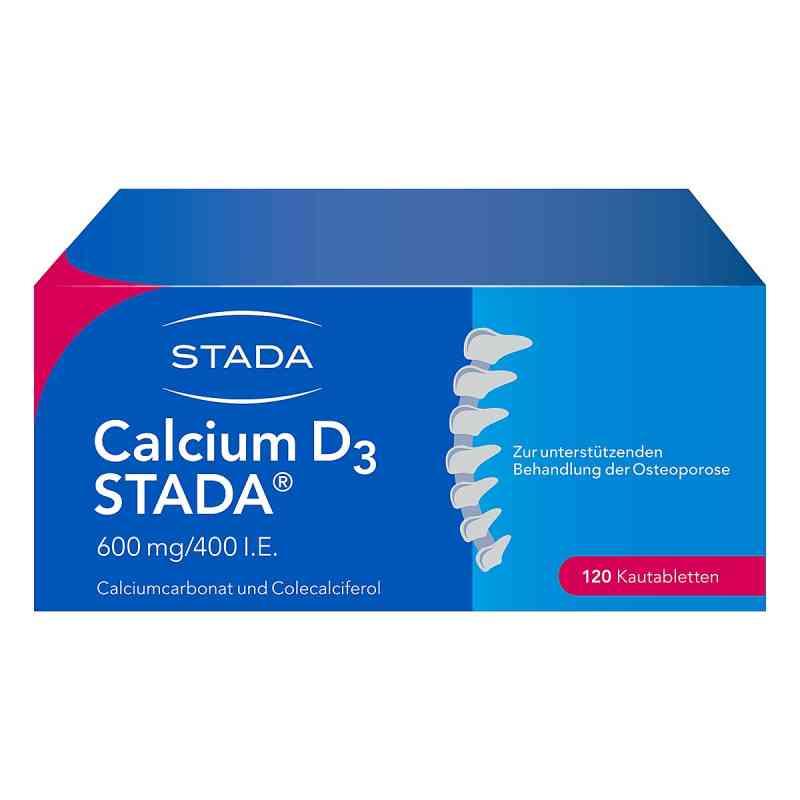 Calcium D3 Stada 600 mg/400 I.e. Kautabl.  zamów na apo-discounter.pl