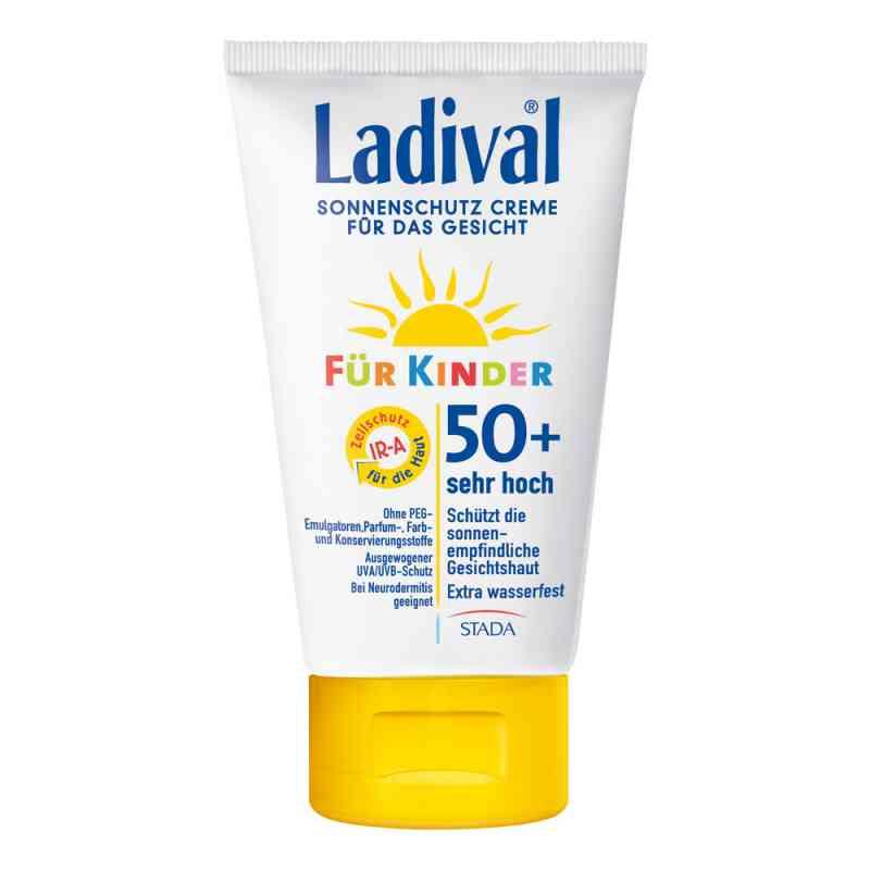 Ladival krem ochronny na słońce do twarzy dla dzieci SPF50+ zamów na apo-discounter.pl