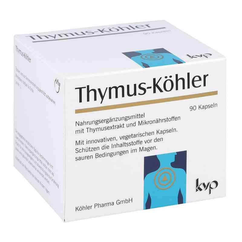 THYMUS-KÖHLER® Kapsułki z grasicy  zamów na apo-discounter.pl